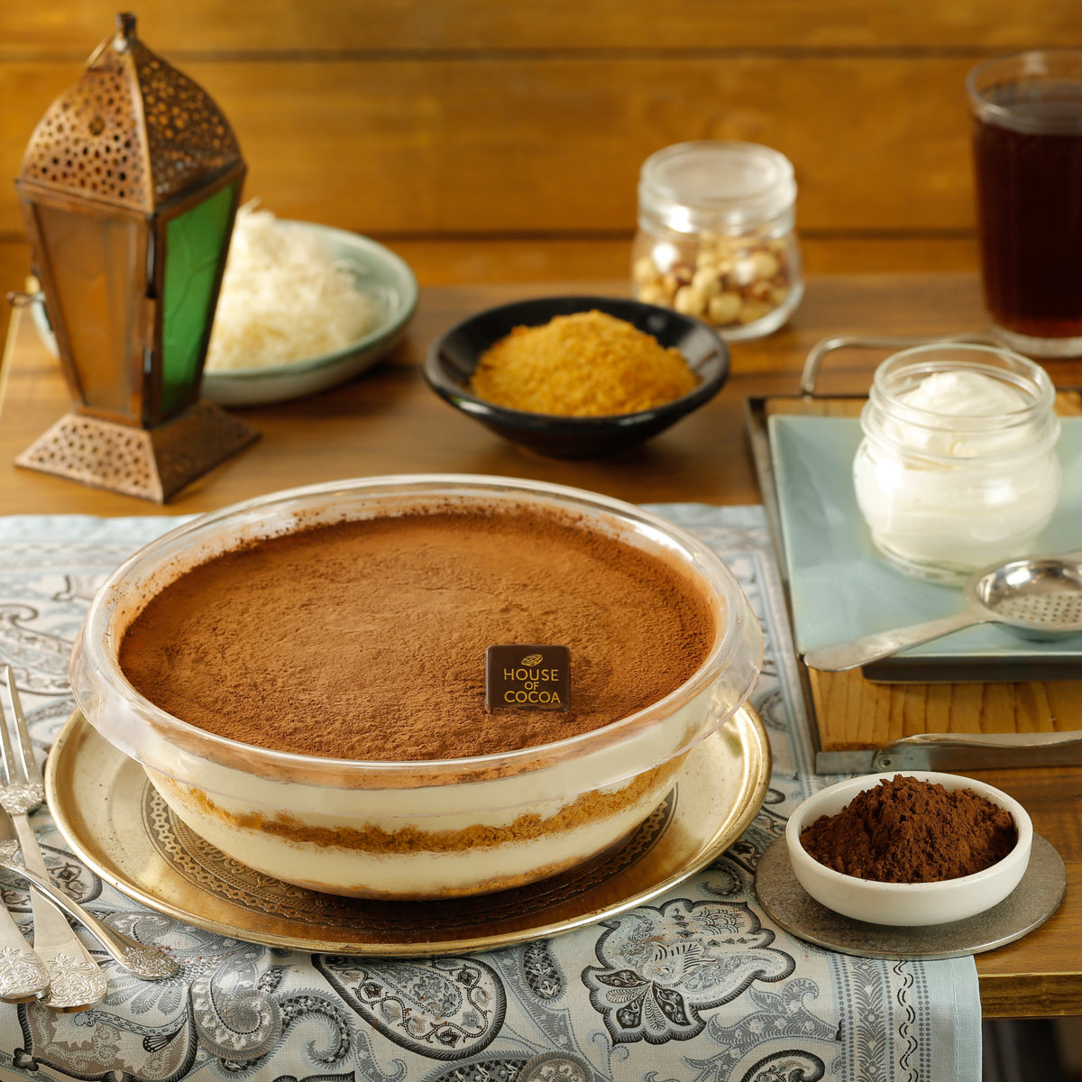 Konafa with Tiramisu - Large