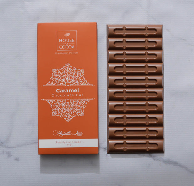 Majestic Caramel Bar 85g