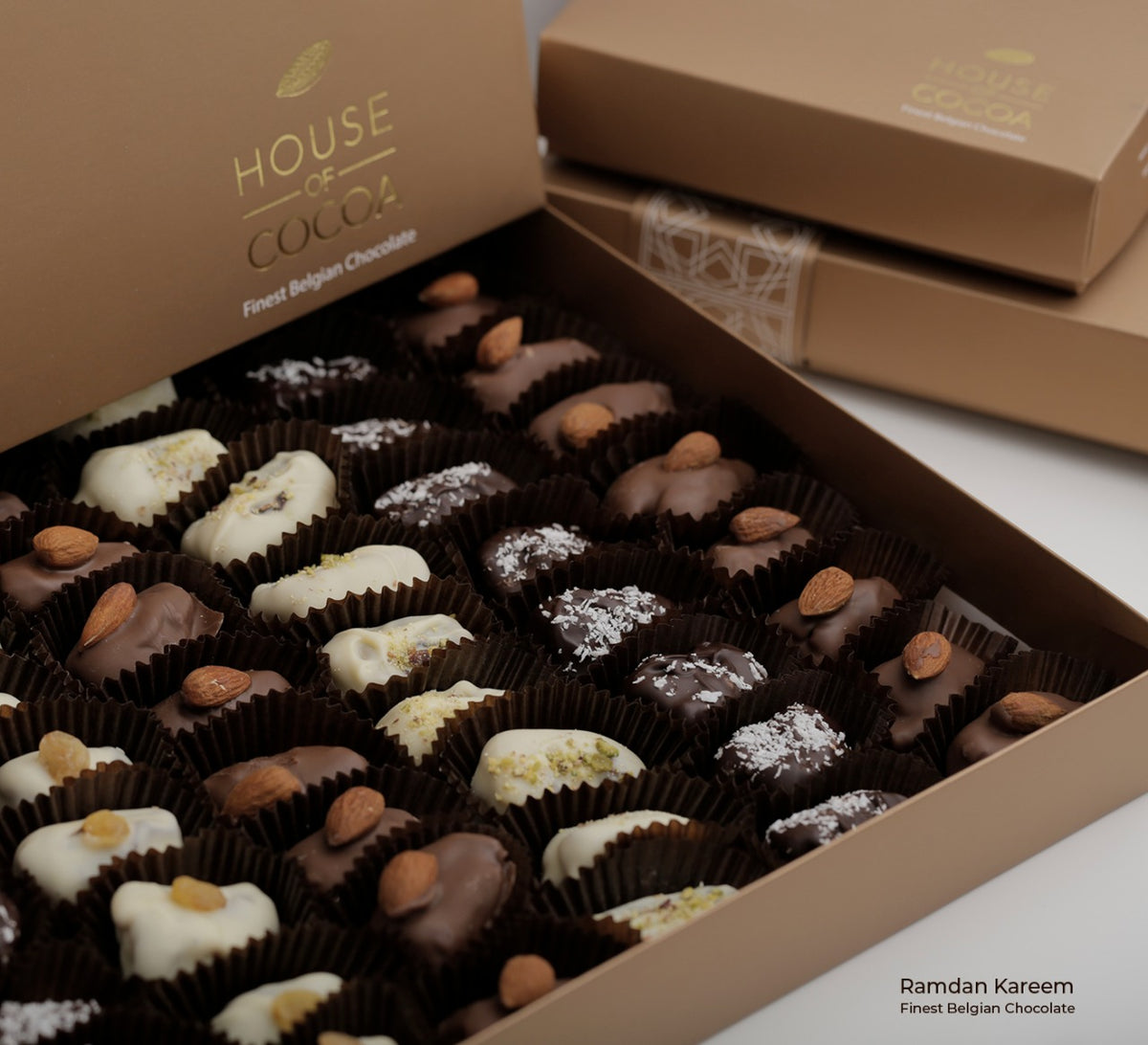 Belgian Chocolate Enrobed Dates