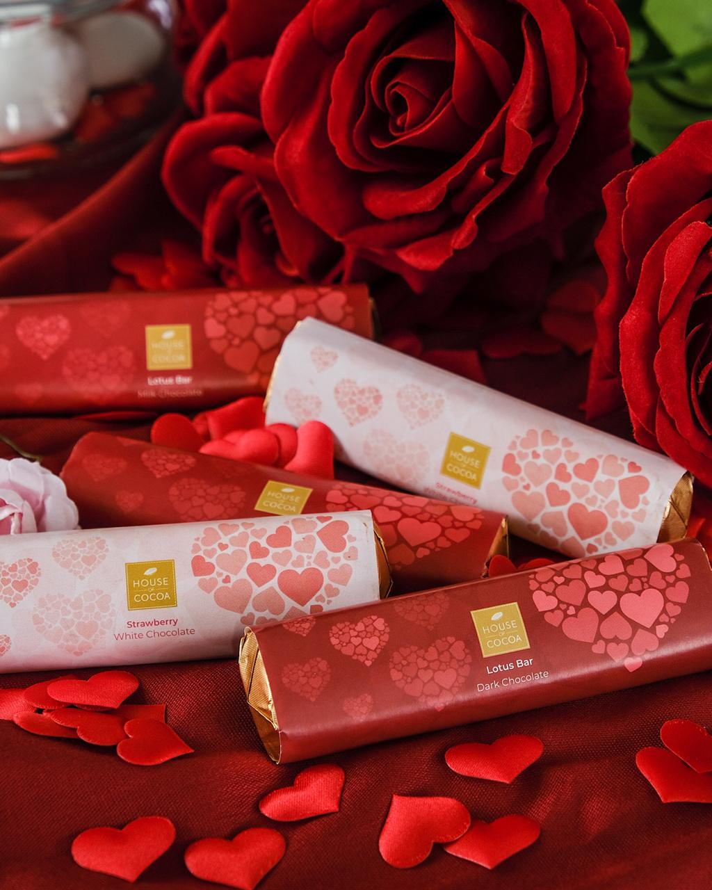 Valentine's Dark Lotus Bar 33 Gm