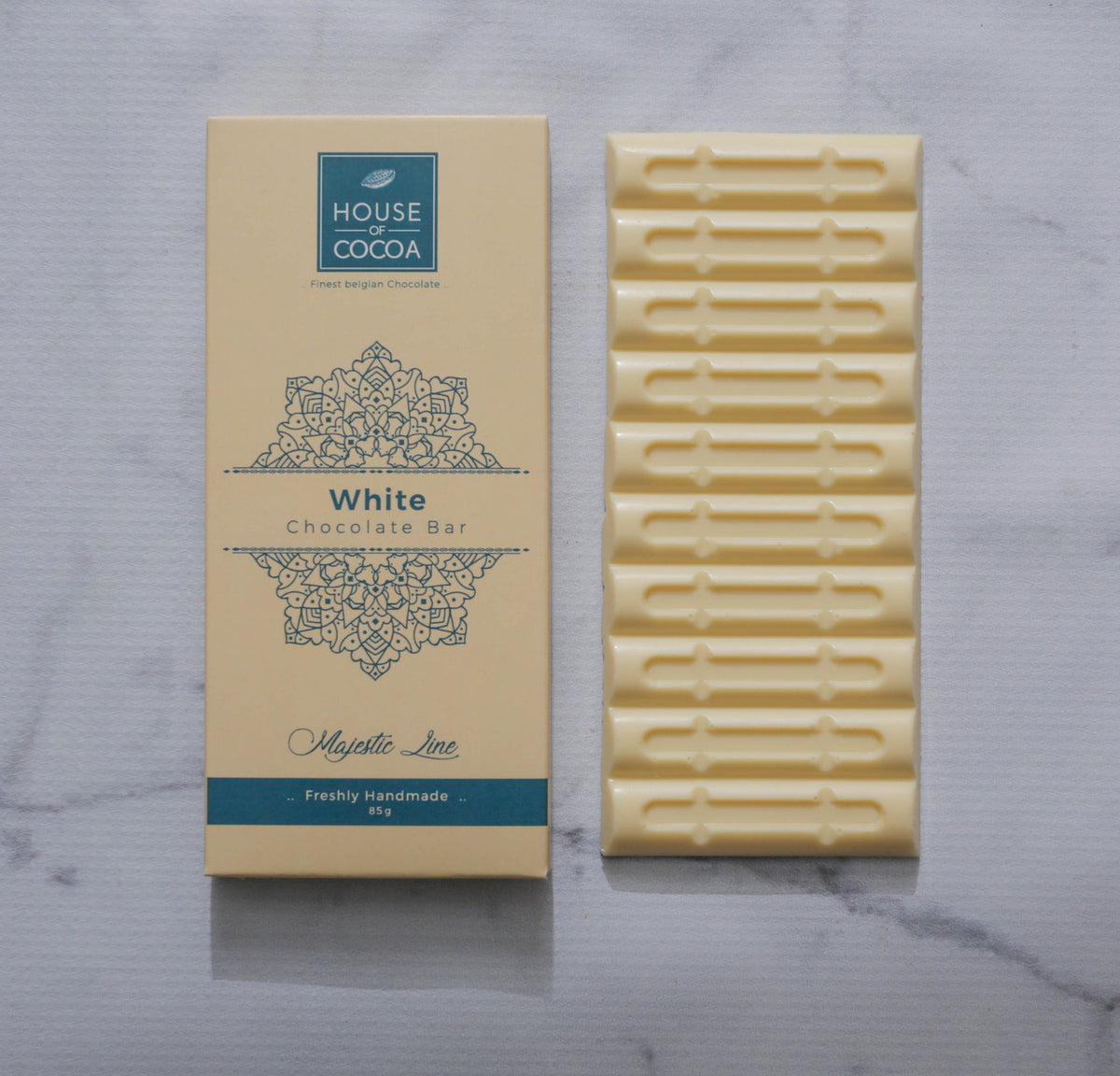 Majestic White Chocolate Bar 85g