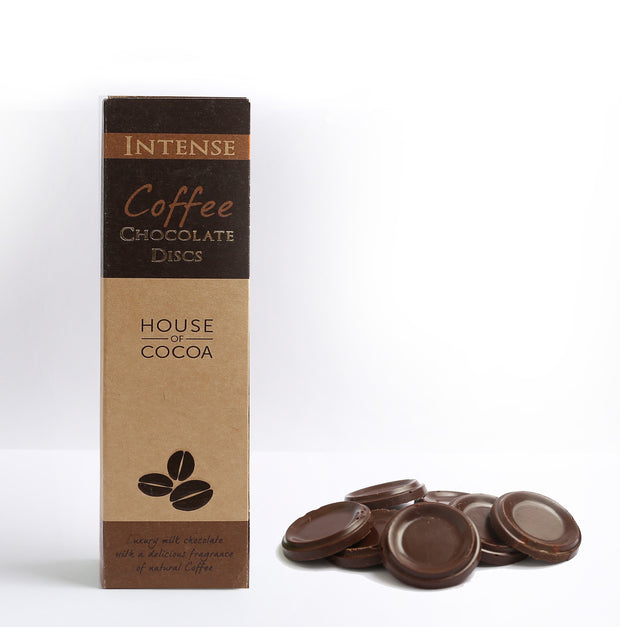 Coffee Chocolate Discs - 100g
