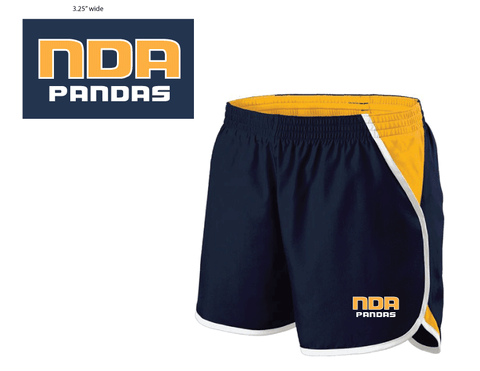 Navy/Gold Running Shorts
