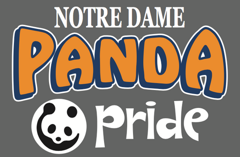 Panda Pride Decal