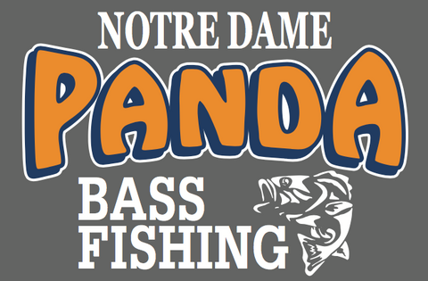Bass Fishing Decal