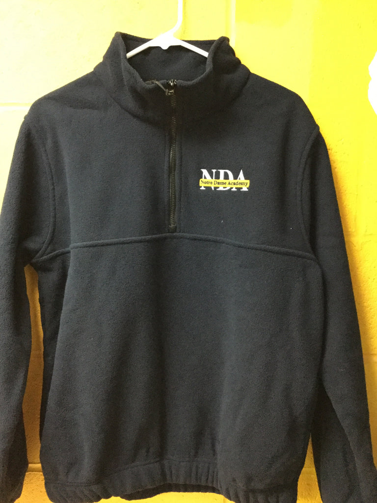 School 1/4 Zip Fleece