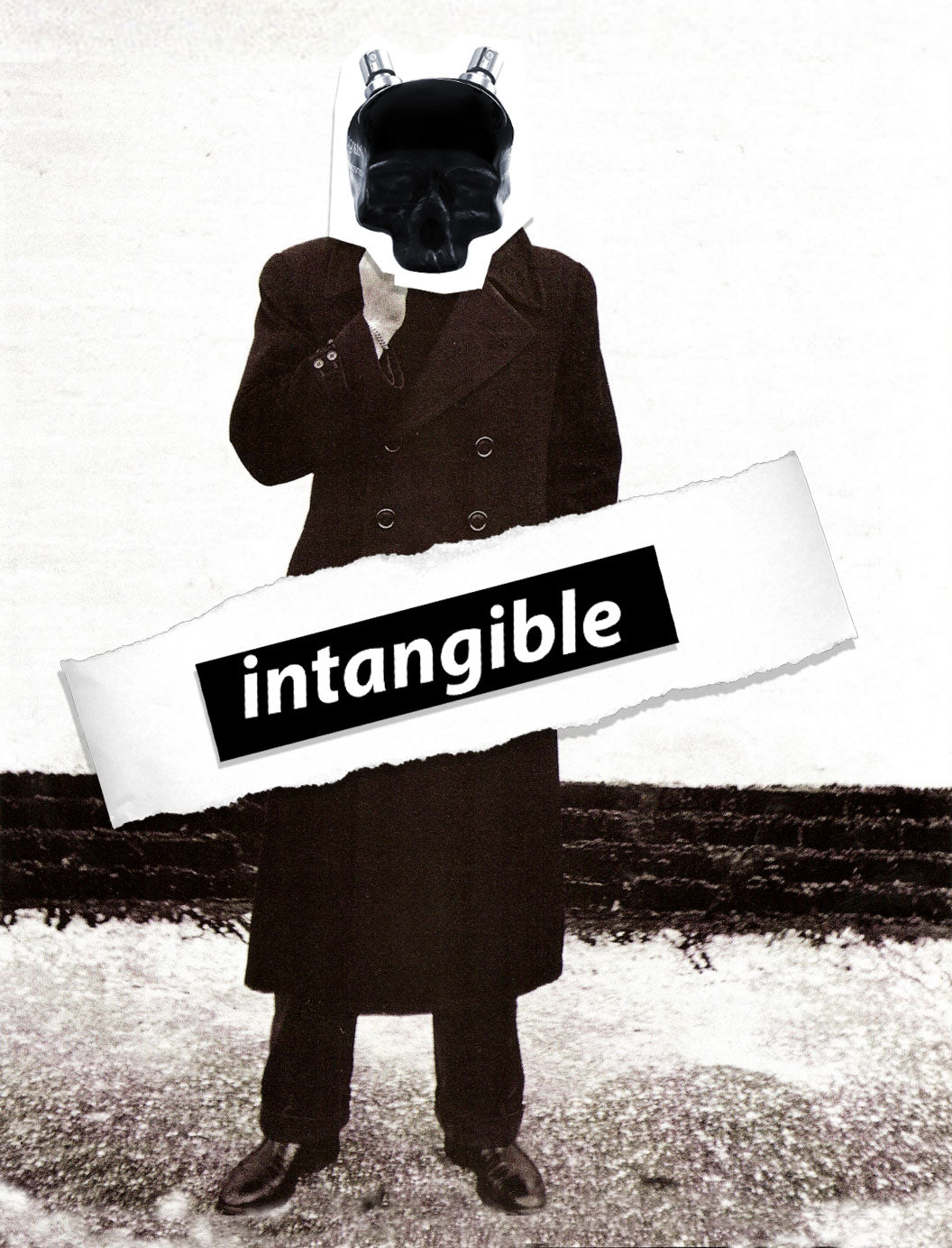 intangible for him
