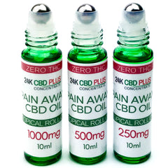 Pure CBD OIL PAIN RELIEF Anti Inflammatory Roll on stick - 0% THC