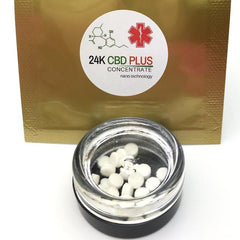 10 or 20 Pure CBD Tablets Oral or Vape (25 mg each)