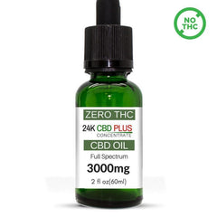 2 OZ 60ml Pure CBD Oil Extract Tincture 3000MG