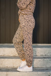 Blush Leopard Sweatpants - At Piece Kyle | Alene Too