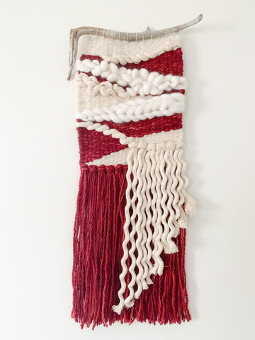 Handwoven wall hanging - 20% off