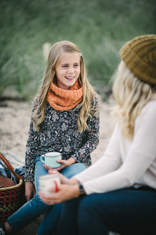 Knitting Pattern - Campfire Cowl