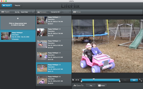 Top 3 Mac Apps for Editing Home Movies Rescued With LifeFlix | LifeFlix