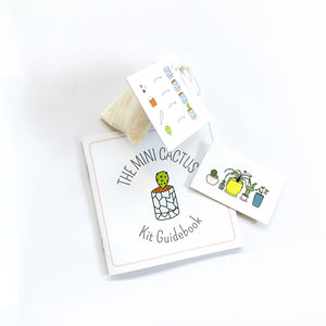 Itty Bitty Mini Cactus Kit Gift Set