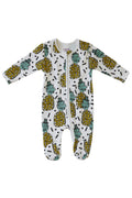Punky Pineapple Sleep Suit with zip