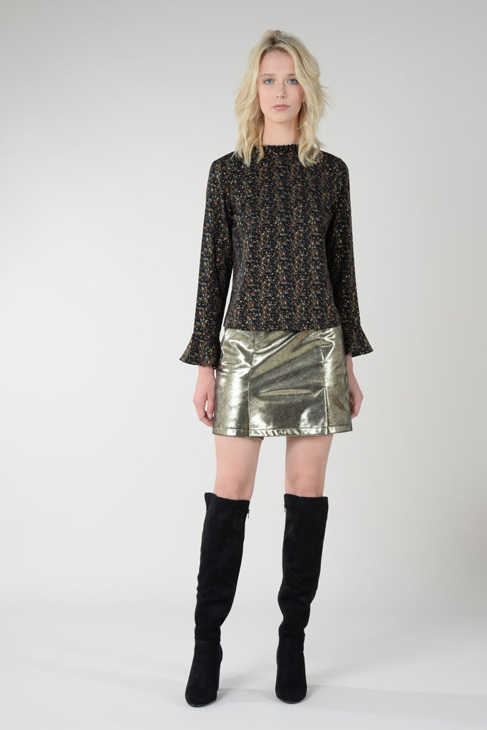 Molly Bracken Mini A-Line Skirt - S.O.S Save Our Soles