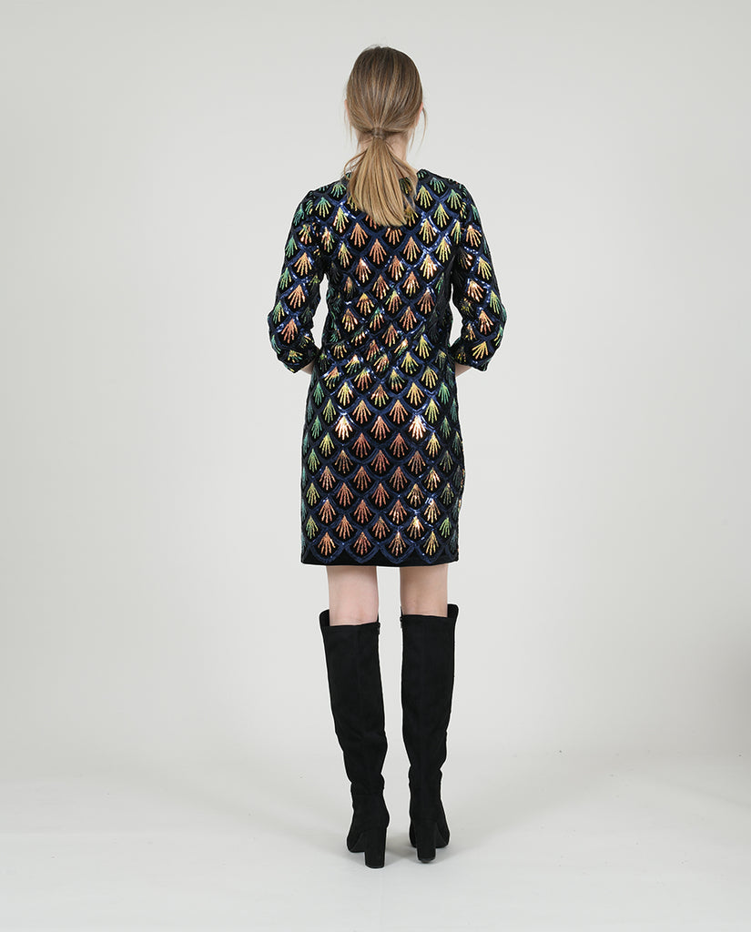 Molly Bracken Shift Sequin Dress - S.O.S Save Our Soles