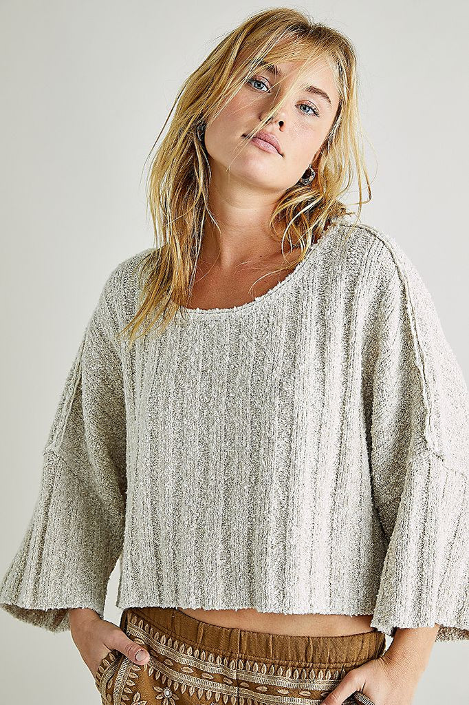 Free People Good Day Pullover Knit - S.O.S Save Our Soles