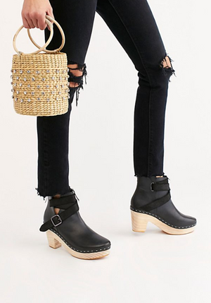 Free People Bungalow Clog Boot - S.O.S Save Our Soles