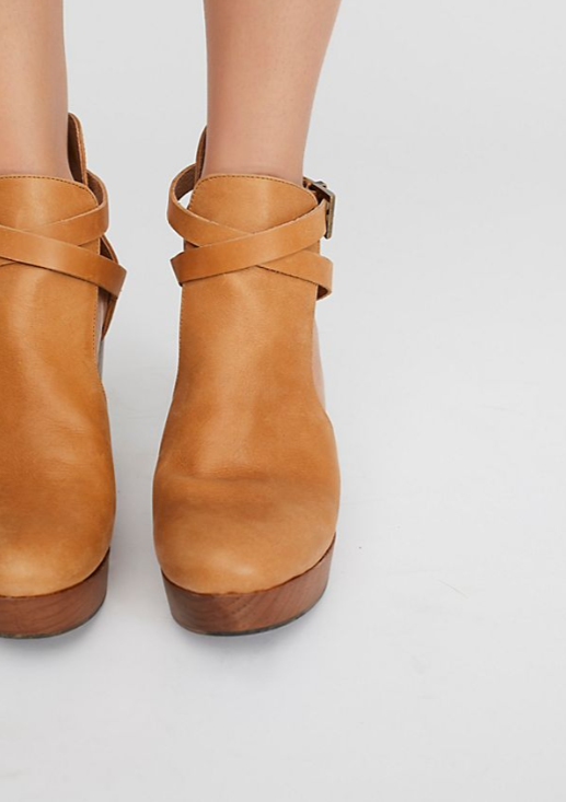 Free People Cedar Clog