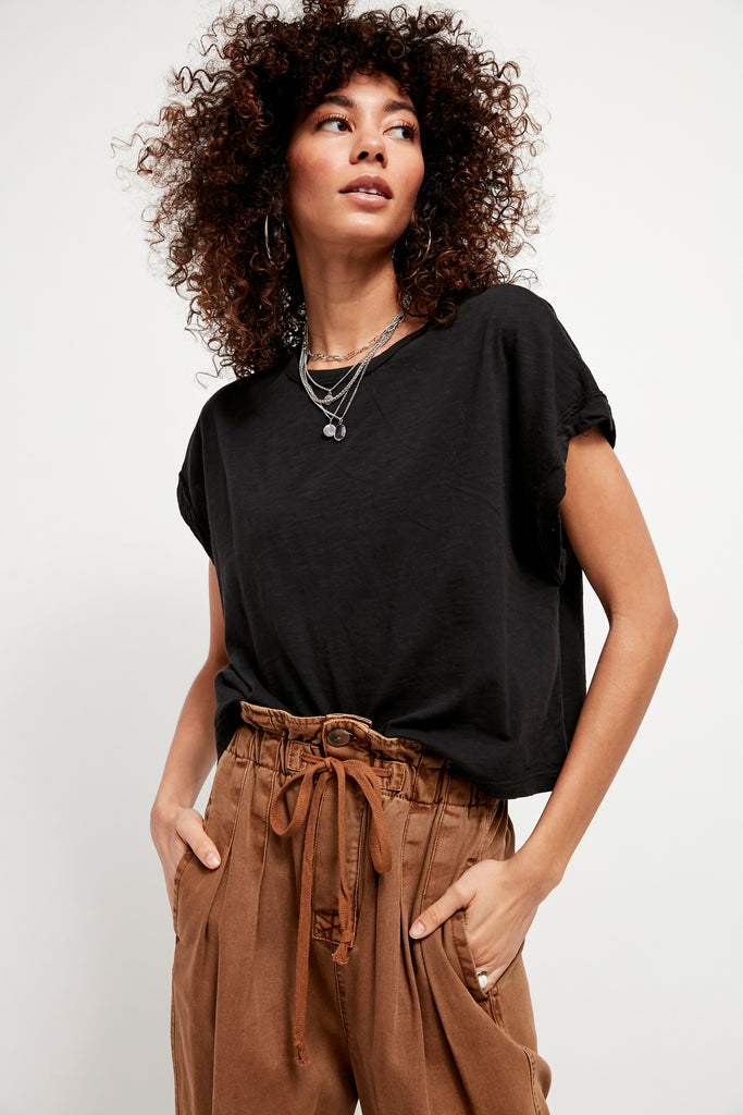 Free People You Rock Tee - S.O.S Save Our Soles