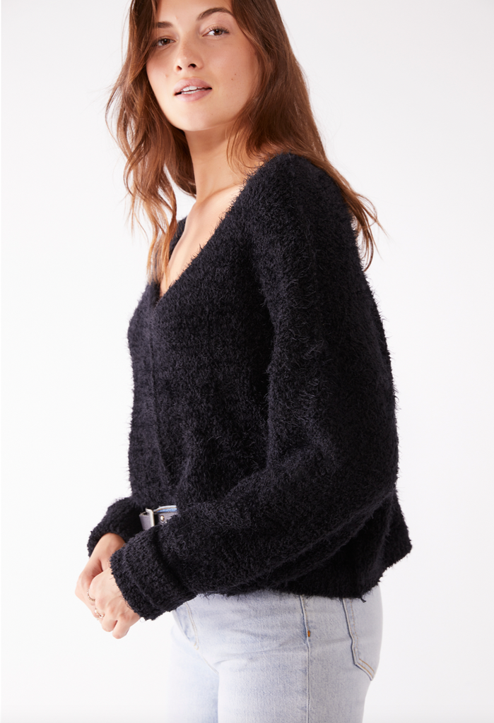Free People Icing V-Neck Pullover - S.O.S Save Our Soles