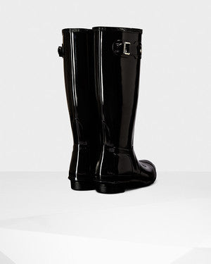 Hunter Original Tall Gloss Black Wellington Boot