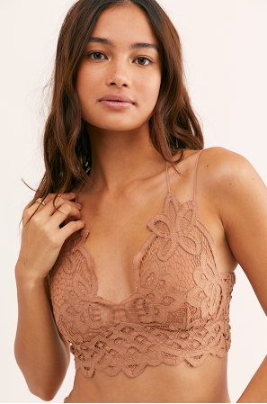 Free People Adella Bralette Beige - S.O.S Save Our Soles