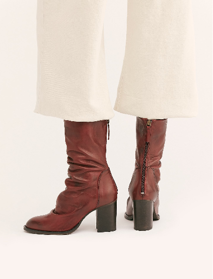 Free People Elle Block Heel Boot