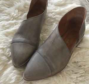Free People Royale Flat Grey - S.O.S Save Our Soles