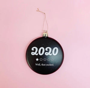 Holiday Tree Ornament - S.O.S Save Our Soles