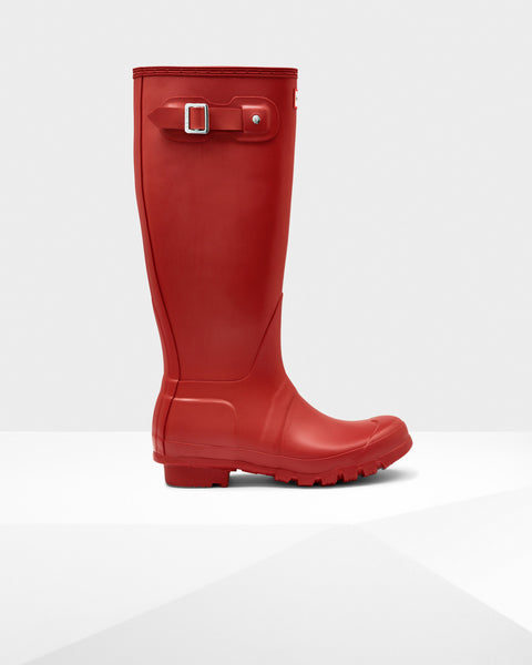 Hunter Original Tall Military Red Wellington Boot