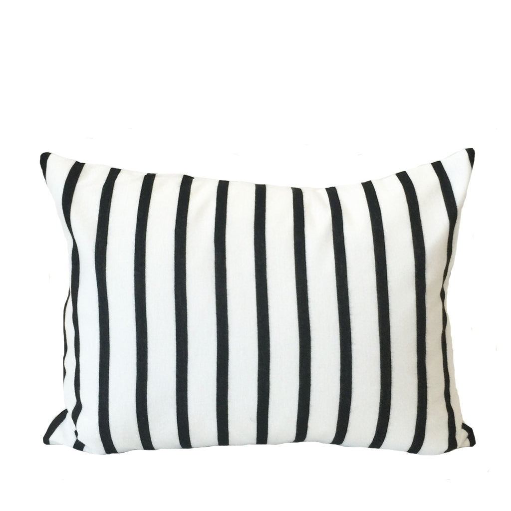 Black + White Stripe Accent