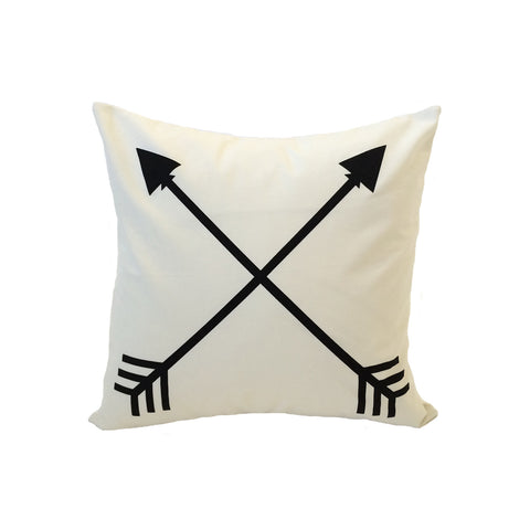 Double Arrow Accent Ivory