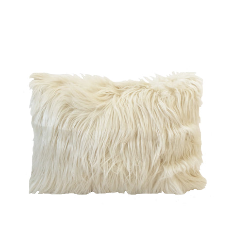 Faux Sheepskin Accent