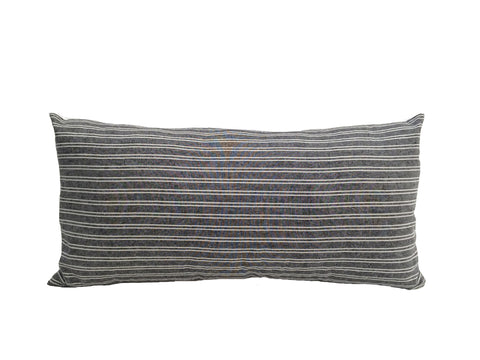 Chambray Stripe Lumbar