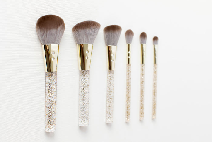 Gold & Grey Brush Set 💕
