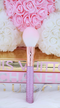 Rosegold Lilac Tapered Face Brush💕
