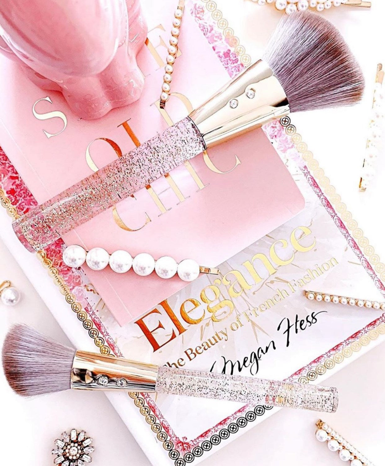 Gold & Grey Brush Set💕