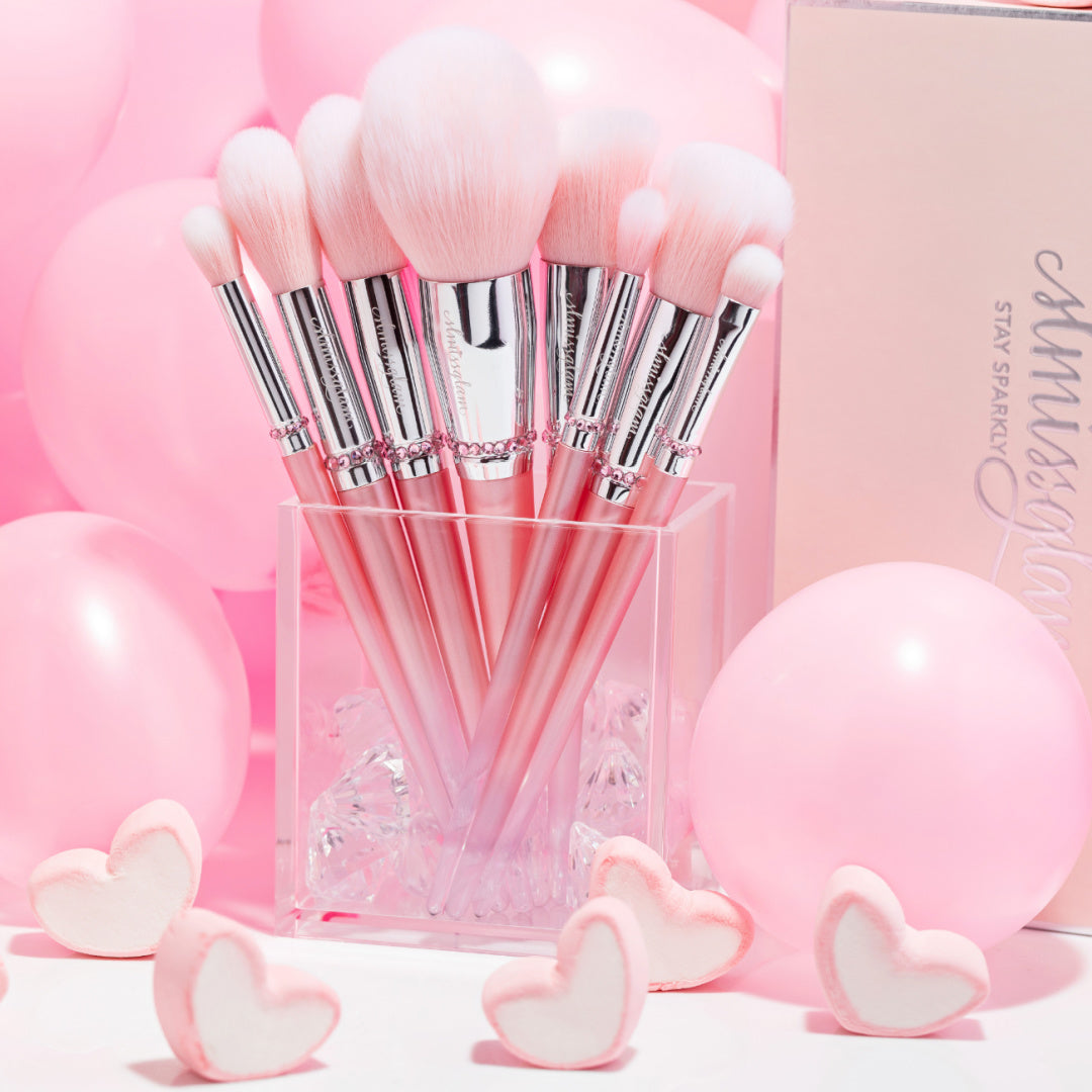 Pink-Ombre Brush Set 💕