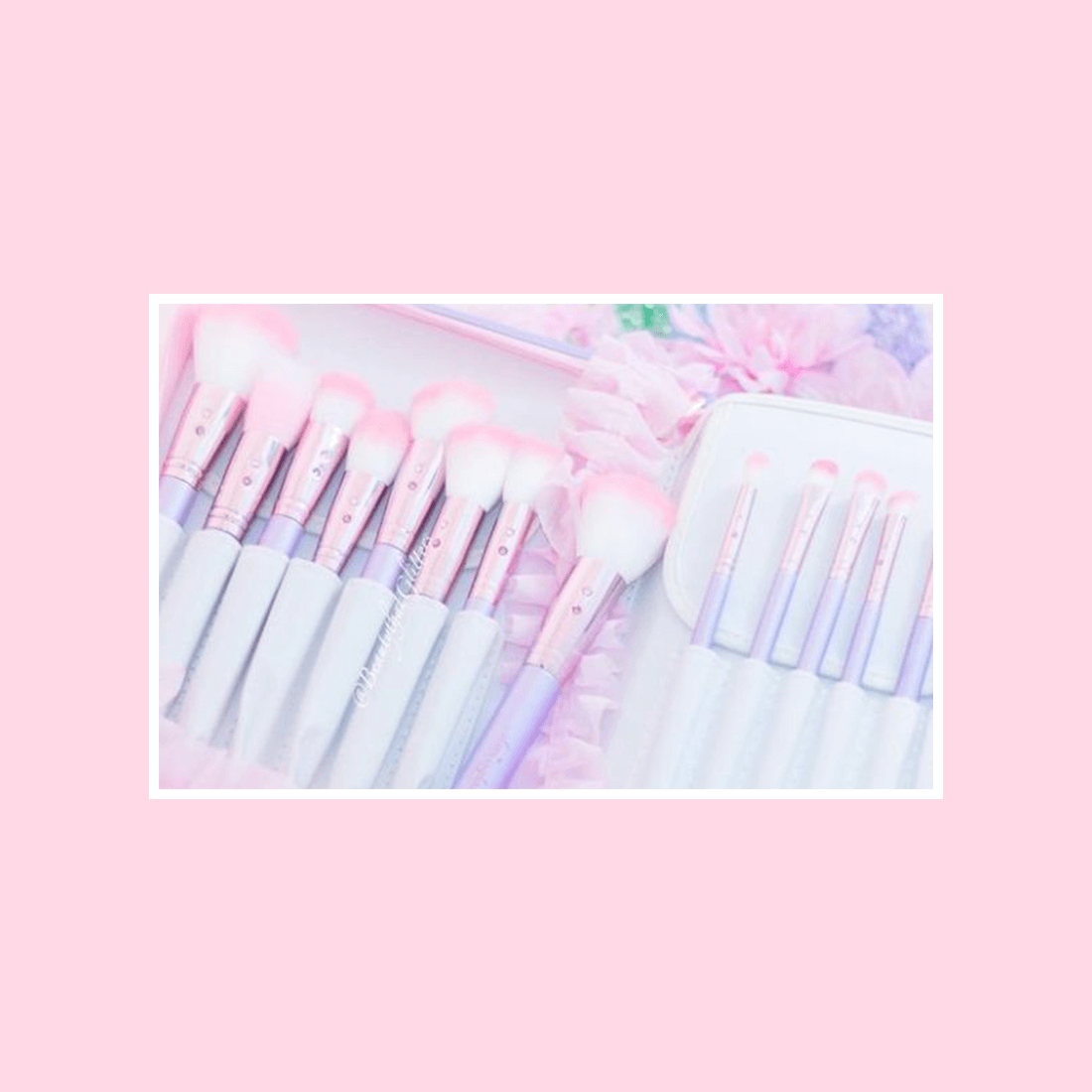 Lilac Glam Brush Book💕