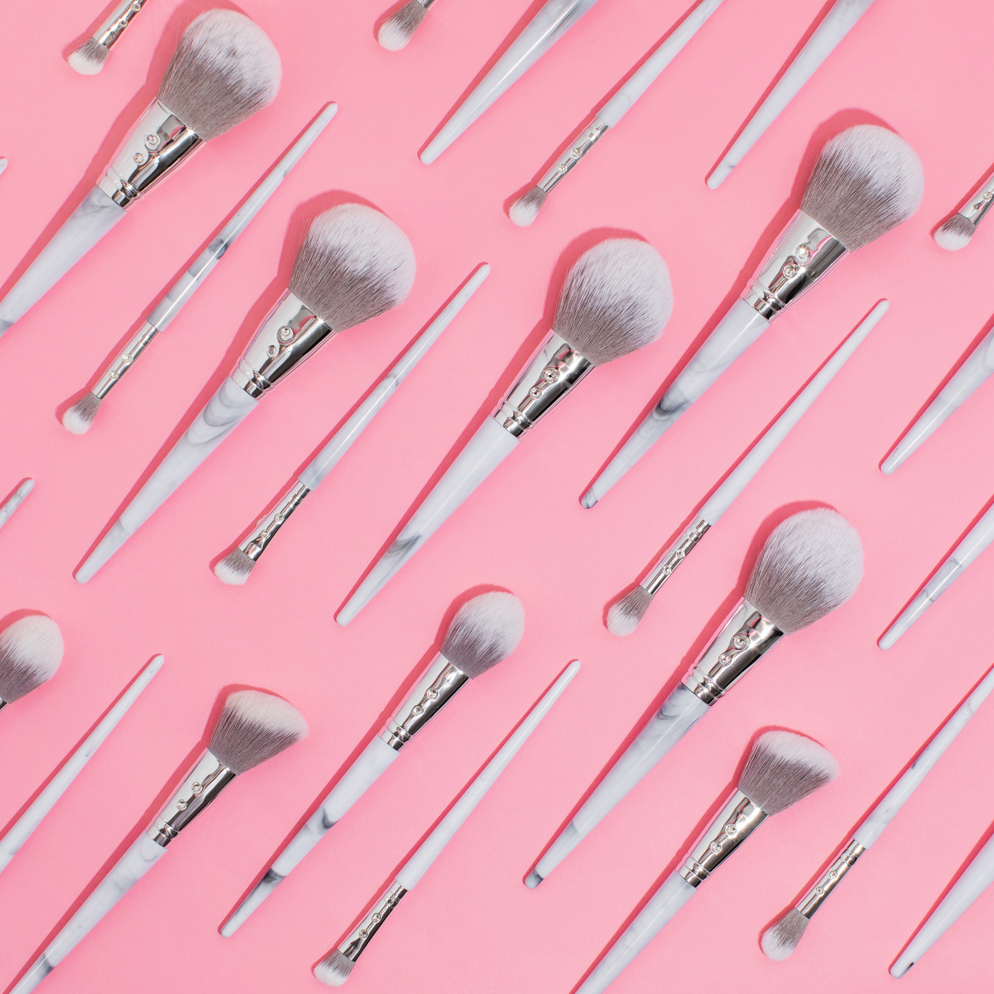 Marble Glam Brush Set💕