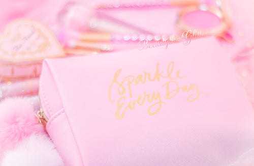 Sparkle Everyday Makeup Bag💕
