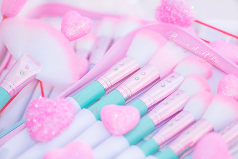 Teal Glam Brush Book♥♥