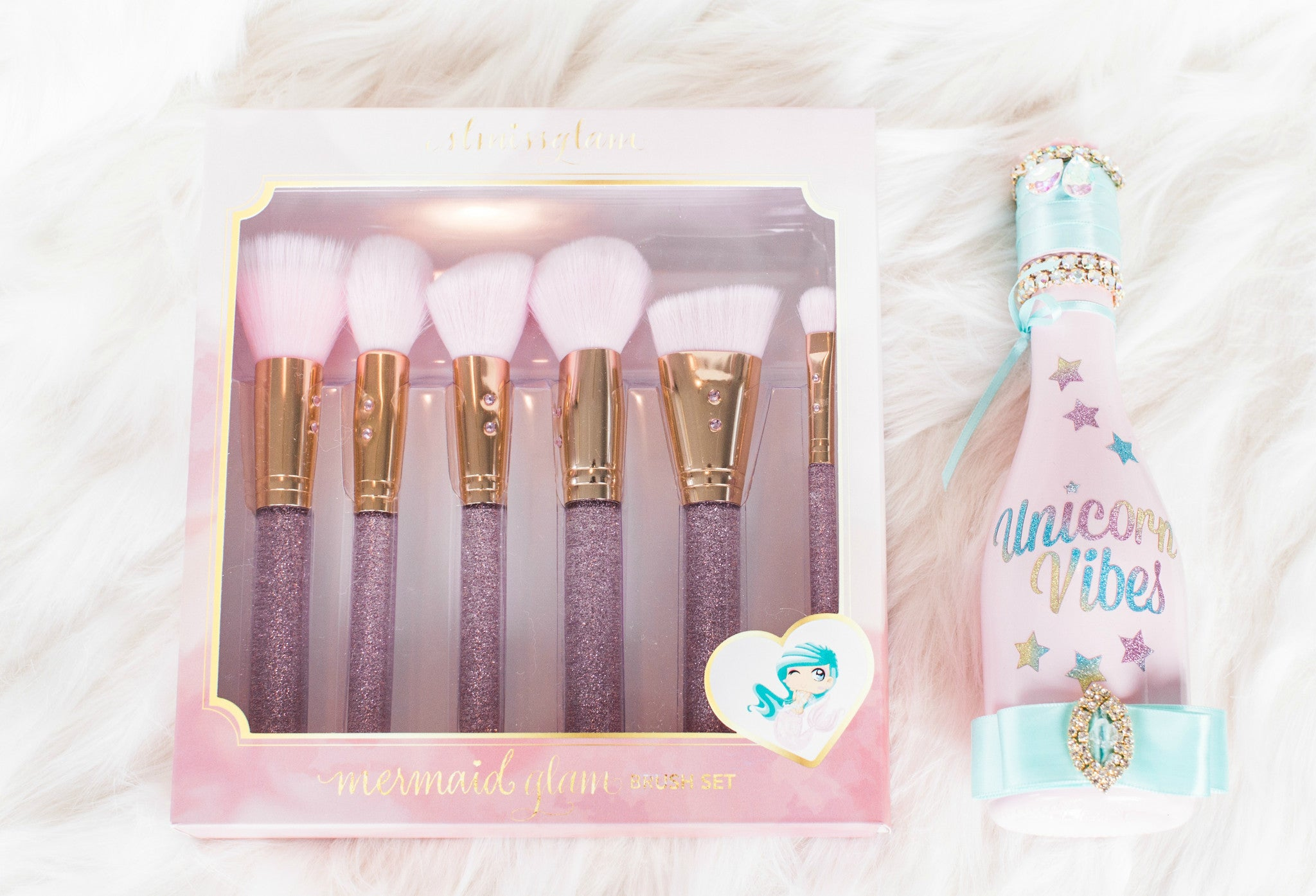 Mermaid Glam Brush Set💕