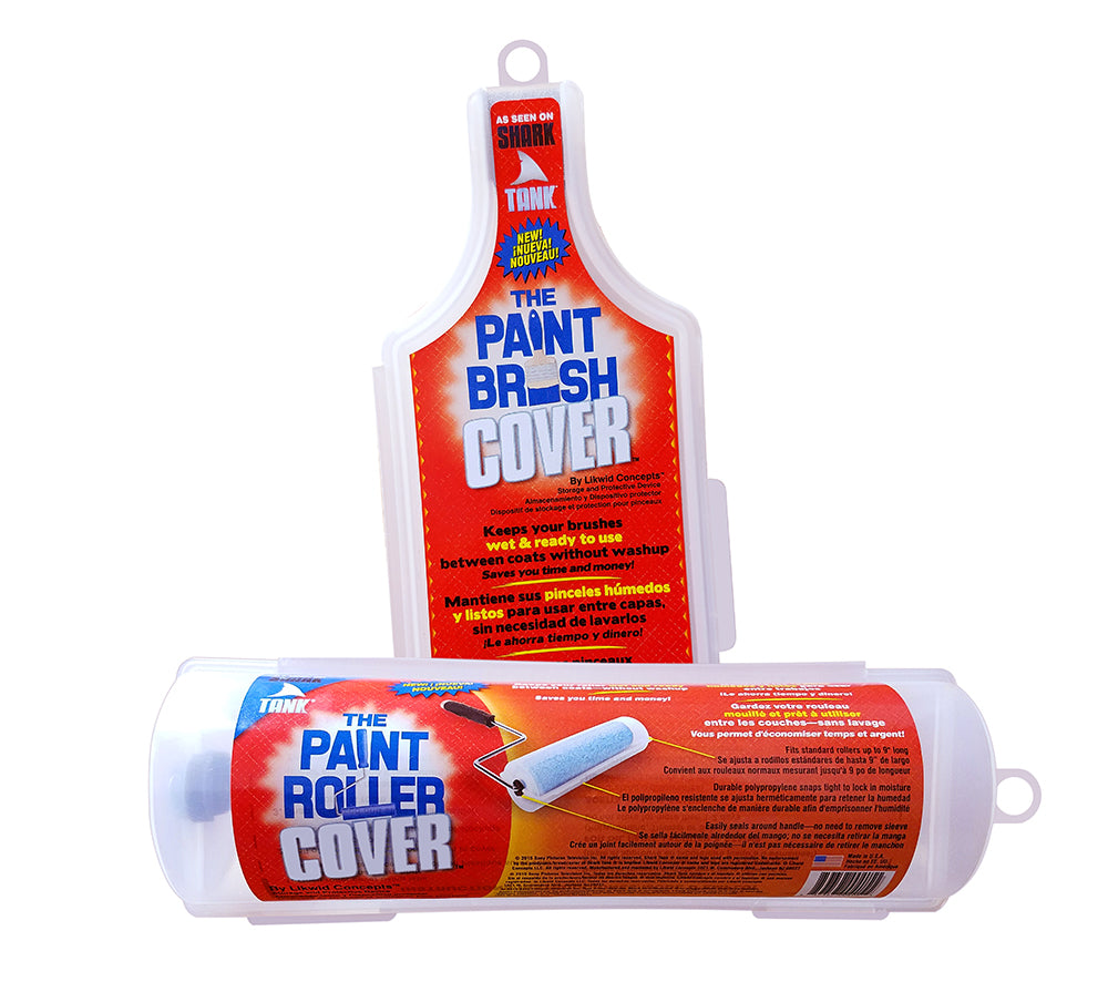Paint Brush Cover And Paint Roller Cover As Seen On Shark Tank