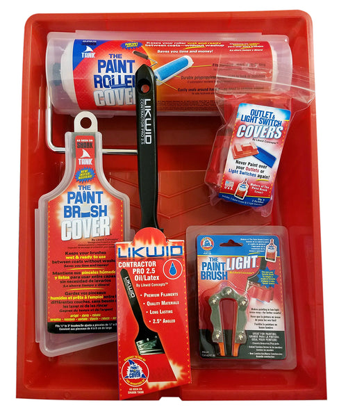 Paint Brush Cover Diy Painters Kit Pro Plus