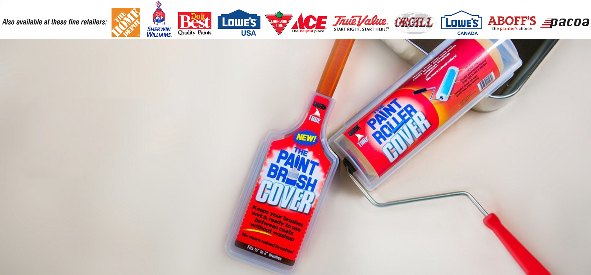 Paint Brush Cover Keeps your brushes wet & ready <br> to use in between coats