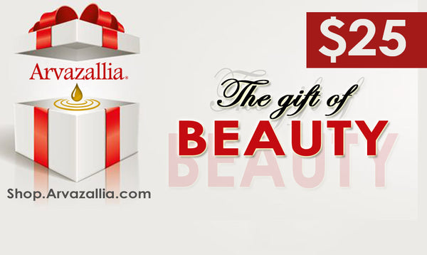 Arvazallia Gift of Beauty Gift Card